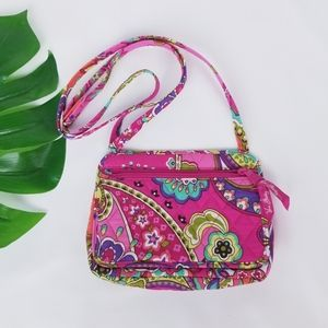 Vera Bradley Crossbody Small Bag Wallet Like New